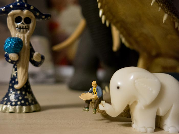 Elephant and the Magi