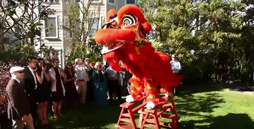 Lion Dance – Wedding Blessing
